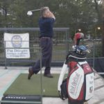 Pat at Diversey Driving Range